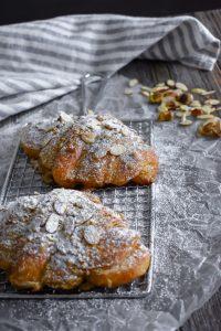 Pistachio Almond Croissants