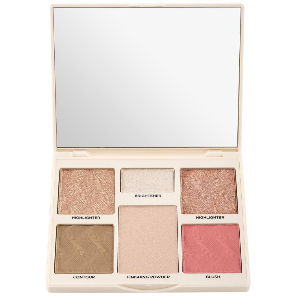 Blush/bronzer set