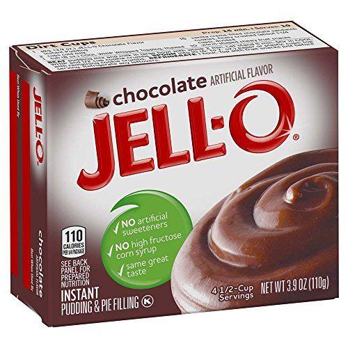 Chocolate Jello pudding