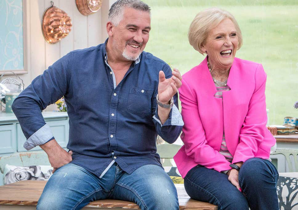 paul and mary from GBBO