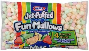 Jet puffed Funmallows